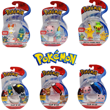 Genuine Starter Pokemon Sword and Shield Anime Figures Elf Ball Set Toys for Children Gift Sobble Jigglypuff Scorbunny Grookey