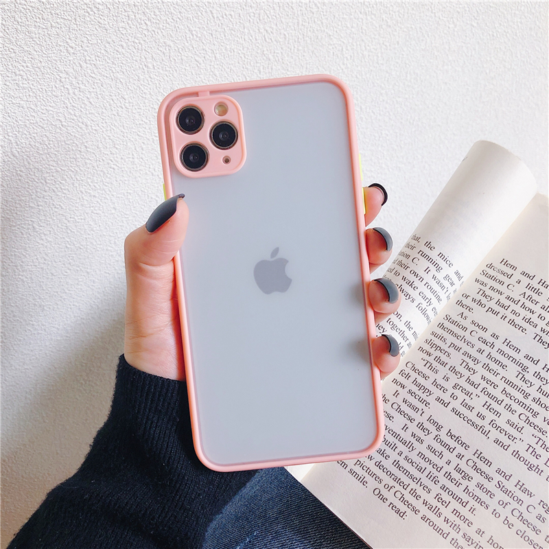 LECAYEE 2020 New iPhone Case Precise Super Anti Knock Phone Protective Cases for iPhone 11 Pro X XR XS Max 7 8 Pus 6s 6 SE (17)