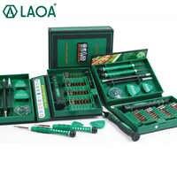 LAOA vente jeu de tournevis 38 in1 outils de réparation Kit précision S2 alliage acier ferramentas outil pour téléphone portable iPhone 4 s, 5 s, 6 s, PSP