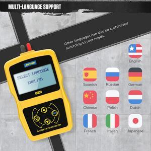 Image 2 - AUTOOL BT360 12V Car Battery Tester Digital Automotive Diagnostic Battery Tester Analyzer Vehicle Cranking Charging Scanner Tool