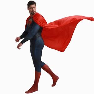 Image 2 - Deluxe סופרמן Aquaman קוספליי תלבושות למבוגרים גברים ליגת צדק Superhero סרבל ליל כל הקדושים תלבושות גברים מבוגרים