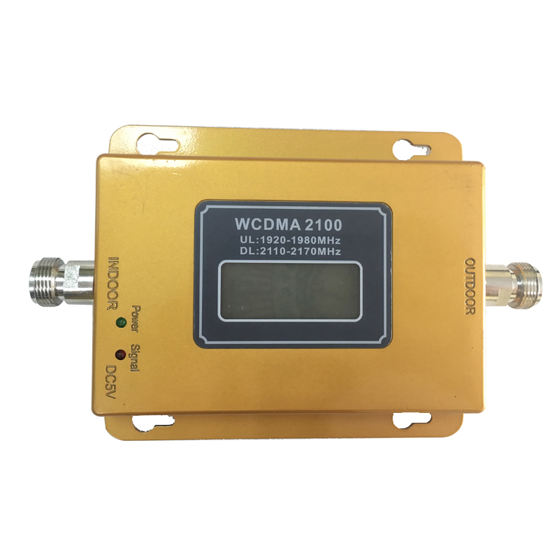 Image 5 - 3G  Repeater 65dB GSM  WCDMA 2100 mhz Cellular Amplifier Mobile Signal Booster WCDMA 2100mhz  Repetidor-in Signal Boosters from Cellphones & Telecommunications