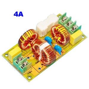 Image 3 - Lusya 2A 4A 15A 25A EMI filtr zakłóceń elektromagnetycznych moduł zasilanie prądem zmiennym filtr T1186