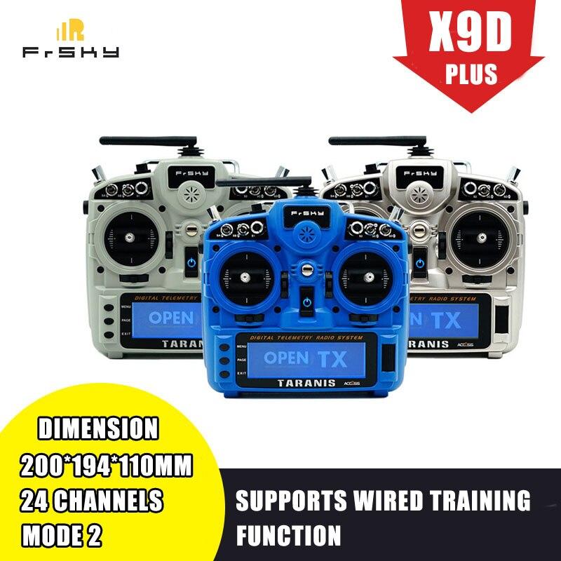Em Estoque X9D Plus 2019 2.4G ACESSO 24CH ACCST FrSky Taranis Transmissor Suporta D16 Functionfor Analisador de Espectro para RC zangão