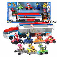 Paw Patrol Dog Patrol Car Mobile Christmas Rescue Big Bus Action Figure Toys Paw Patrol Deformation Children's Toy Gifts 2A17
