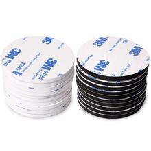 10pcs/set 3M Strong VHB Tape Double Sided Black Acrylic Foam Tape Pad Mounting Round Rectangle adhesive for Car DIY home Decor цена и фото