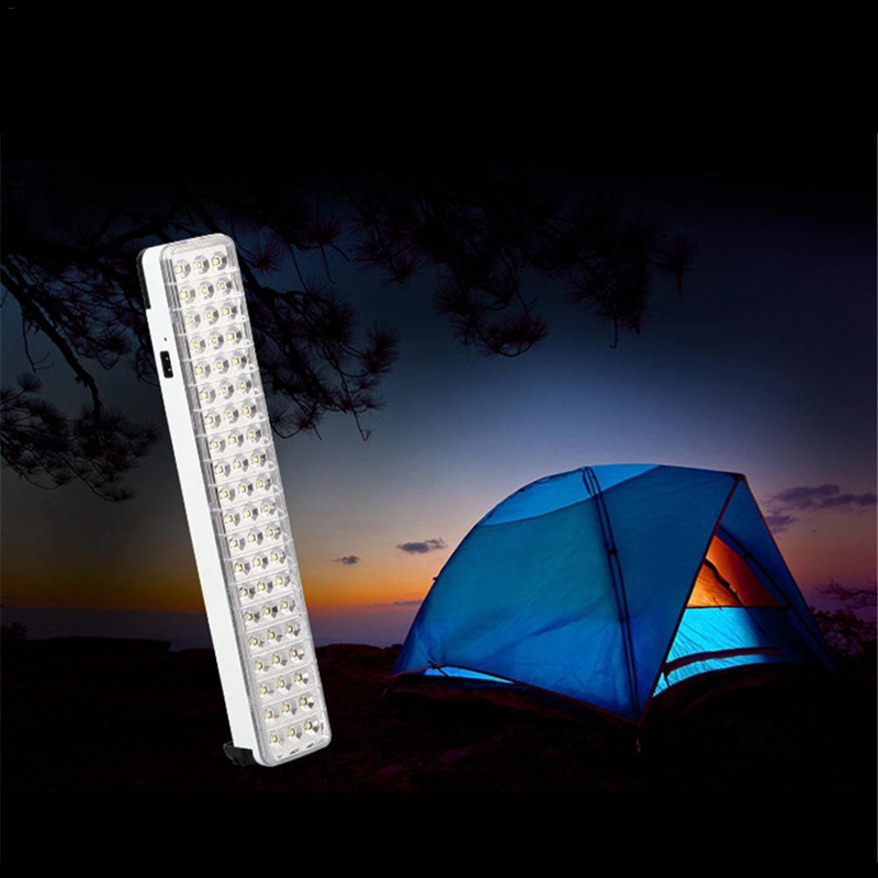 Led Camping Light Energy Saving 60 Led Emergency Light 60W Rechargeable Emergency Lamp For Camping Fishing Hiking