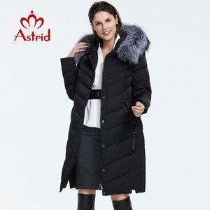 Image 2 - Astrid 2019 Winter neue ankunft unten jacke frauen mit einem pelz kragen lose kleidung oberbekleidung qualität frauen winter mantel FR 2160