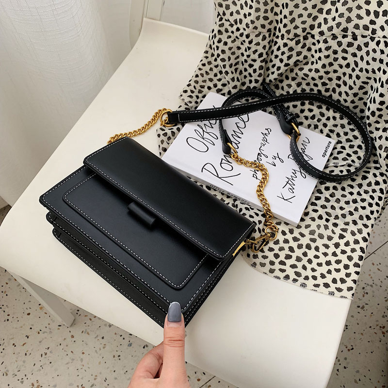 Image 4 - Mini PU Leather Crossbody Bags For Women 2019 Green Chain  Shoulder Messenger Bag Lady Travel Purses and Handbag Cross Body  BagTop-Handle Bags