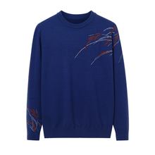 Men Sweater Pullover Clothing NEW Winter Casual O-Neck Striped Cashmere Autumn Brand