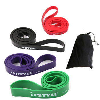 "41"" Resistance Bands 208cm Fitness Rubber Pull Up Crossfit Power latex Expander Hanging Yoga Loop Band 1"
