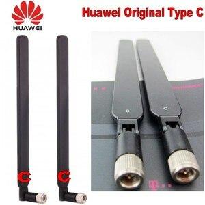Image 2 - Genuines Huawei סוג C 4G LTE חיצוני אנטנת SMA מחבר HUAWEI B315 B593 B715 E5186 B310 B612 אלחוטי Gateway 2PCS