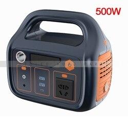 1 Pza batería de energía para exteriores de envío gratis, batería eléctrica para motocicleta, batería de litio de 500Wh para estación eléctrica portátil