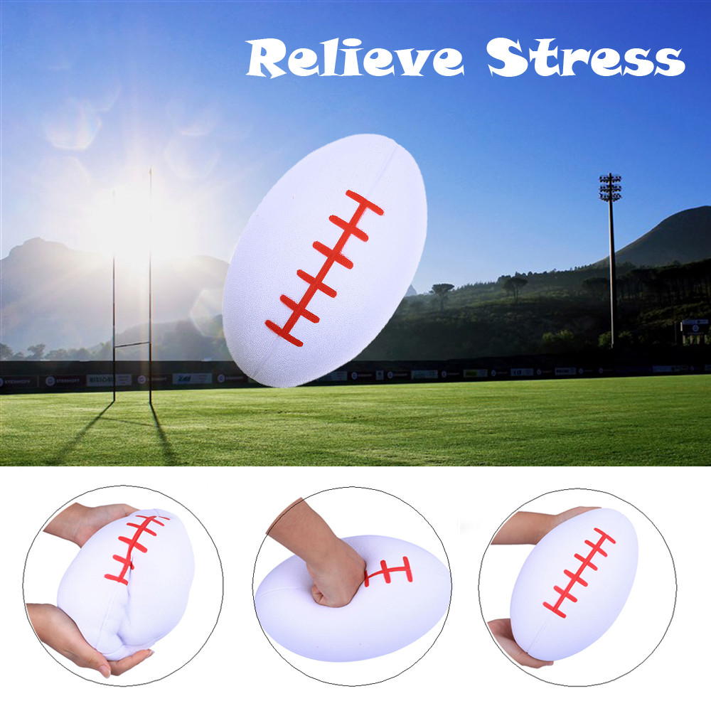 2020 New Jumbo Toy Giant Soft Oversized Simulated Rugby Slow Rebound Slow Rising Squeeze Relieve Stress Toy  L0110