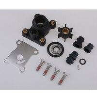 Impeller Water Pump Repair Kit for Johnson Evinrude OMC Outboard 9.9 15hp Boat Motors, 394711 (Heavy Duty)