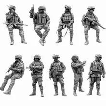 1//35 Resin Figure Model Kit X Detective Beauty Resin Soldier Model White Q9V2
