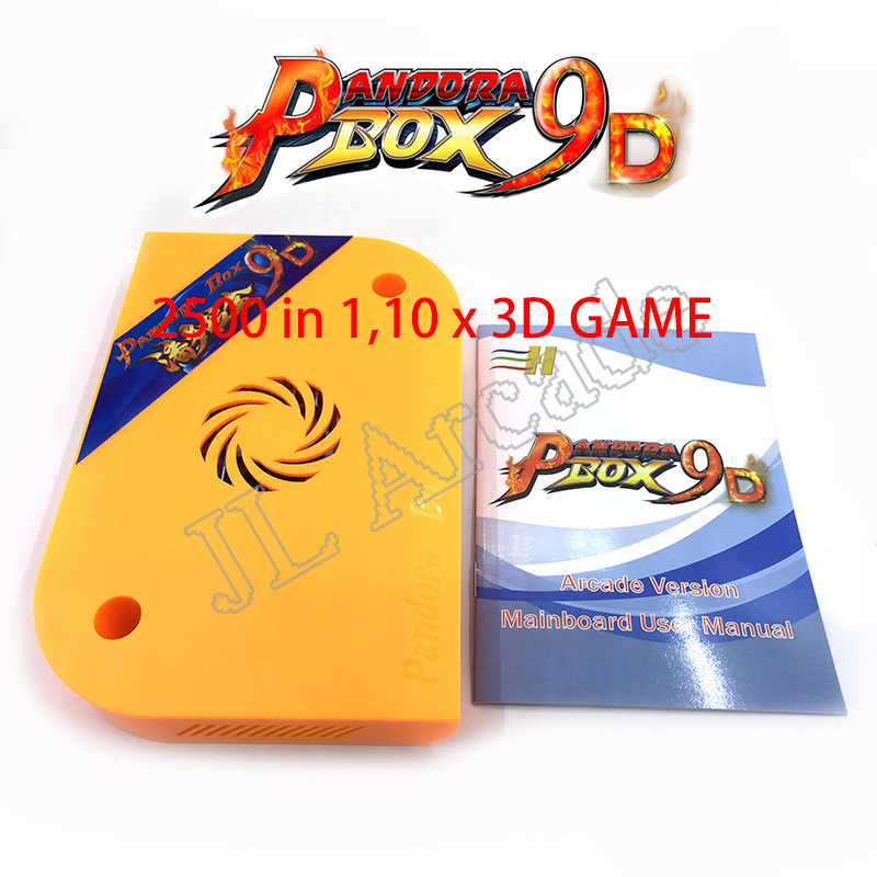 100% Pandora Box 9D 2226 In 1 / 2500 In 1 Arcade Version HDMI VGA For Arcade Cabinet Support 3P 4P Game Usb Gamepad 3D Games