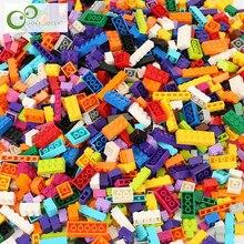 1100 adet/500 adet yapı taşları şehir DIY yaratıcı tuğla toplu modeli rakamlar eğitici çocuk oyuncakları uyumlu tüm markalar GYH