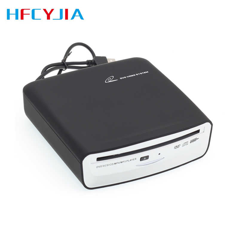 Hfcyjia Auto Usb Externe Dvd Speler Draagbare Cd Dvd Lezen Disc Voor Android Systeem Auto Radio Head Unit Screen Video