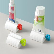 Suministros de baño para apretar pasta de dientes, artefacto Manual con Clip, exprimidor de artefactos para el hogar, suministros de baño, novedad de 2021