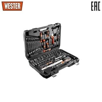 Набор инструмента Wester, WT072, универсальный, 1/4  1 / 2DR, 72 предмета