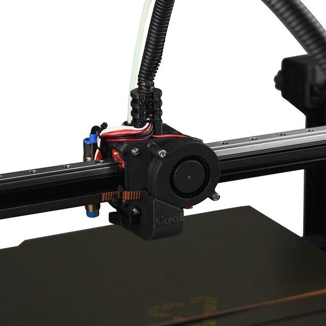Wentylator drukarki 3D 5015 dmuchawa powietrza 5V 12V 24V wyjątkowo ciche łożysko olejowe około 7500 obr./min Turbo mały wentylator do drukarki 3D