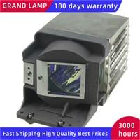 Lámpara de proyector Compatible con carcasa 5J.J5E05.001 lámpara de proyector para EP5127P/EP5328/MS513/MX514/MW516/MW516 + HAPPY BATE