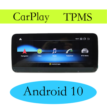 Car Multimedia GPS Audio Radio For Mercedes Benz A 160 180 200 220 250 45 MB W176 NTG 2016~2018 CarPlay TPMS Android Navigation image