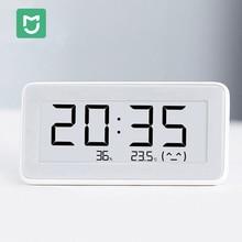Оригинальные умные электронные часы Mijia, контроль температуры и влажности, экран E-Ink для теплицы, хранилище, ванная комната