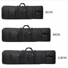 التكتيكية الصيد بندقية بندقية حقيبة حمل بندقية الادسنس العسكرية الثقيلة ملحقات المسدس حقيبة قناص بندقية واقية 81 94 118 سنتيمتر