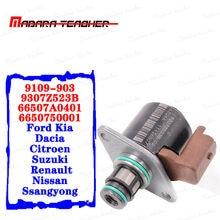 Bomba de combustible IMV, Sensor de presión de entrada válvula Reguladora, 9109-903, 9307Z523B, 66507A0401, 6650750001, para Ford, Kia, NISSAN, Delphi