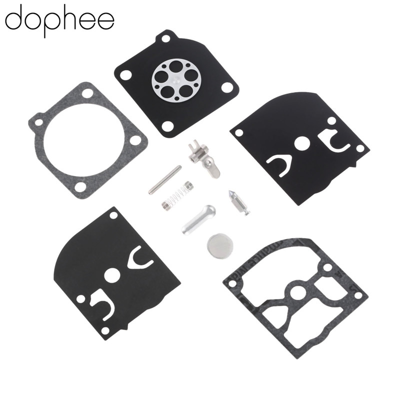 Dophee Carburetor Carb Repair Kit For ZAMA RB-39 C1Q-M27 -M28 -H14 -H19 -H27 -H32 CARB POULAN WEEDEATER MCCULLOCH CHAINSAWS