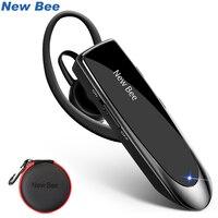 새로운 꿀벌 블루투스 헤드셋 V5.0 무선 핸즈프리 이어폰 24H 아이폰 xiaomi에 대한 소음을 취소 마이크와 헤드셋 이야기