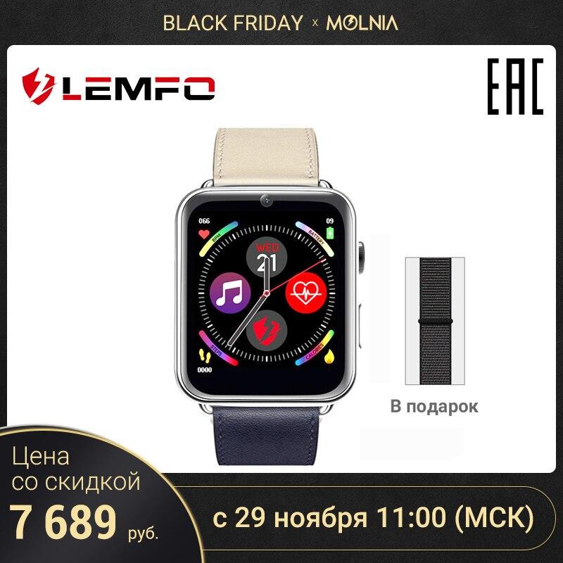 Relógio inteligente unissex lemfo lem10 ram 1 gb + rom16б smart relógio inteligente com monitor em tempo real para mulher masculina