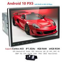 2 din 4G 64G Car radio for Universal car dvd player GPS navigation bluetooth car accessory 4G internet Android 10 Octa Core DSP