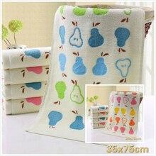 Cotton Cartoon Fruit Pattern Beauty Washcloth School Dormitory Camping Portable Towel Bathroom Yoga Running Sports Towels