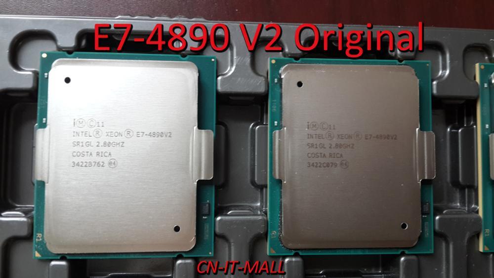 Original E7-4890 V2 Xeon SR1GL 2.8GHZ COSTA RICA Processor