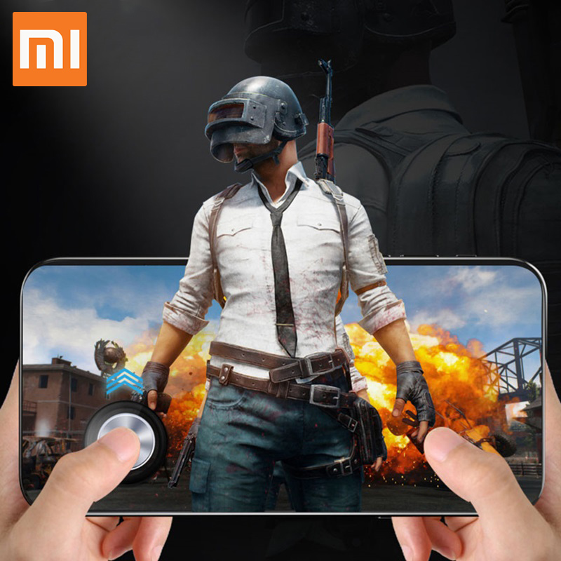 Xiaomi Round Game Joystick Mobile Phone Rocker For Iphone Android Tablet Metal Button Controller For PUBG Controller Suction Cup