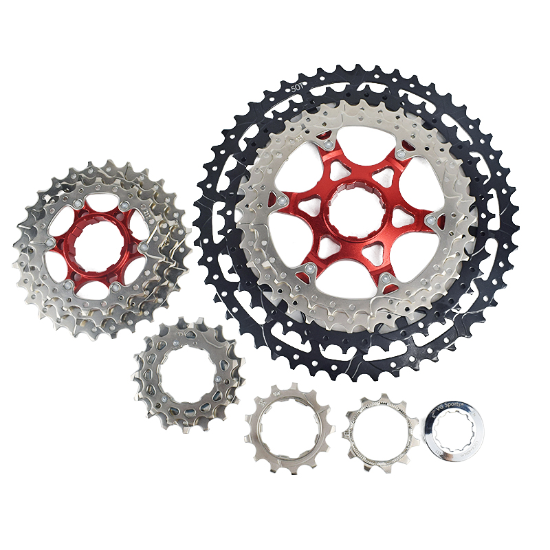 Image 3 - MTB 10 11 12 Speed Cassette Wide Ratio Freewheel Mountain Bike  Sprocket 11 40T 42T 46T 50T Compatible with Shimano Sram SunraceBicycle  Freewheel