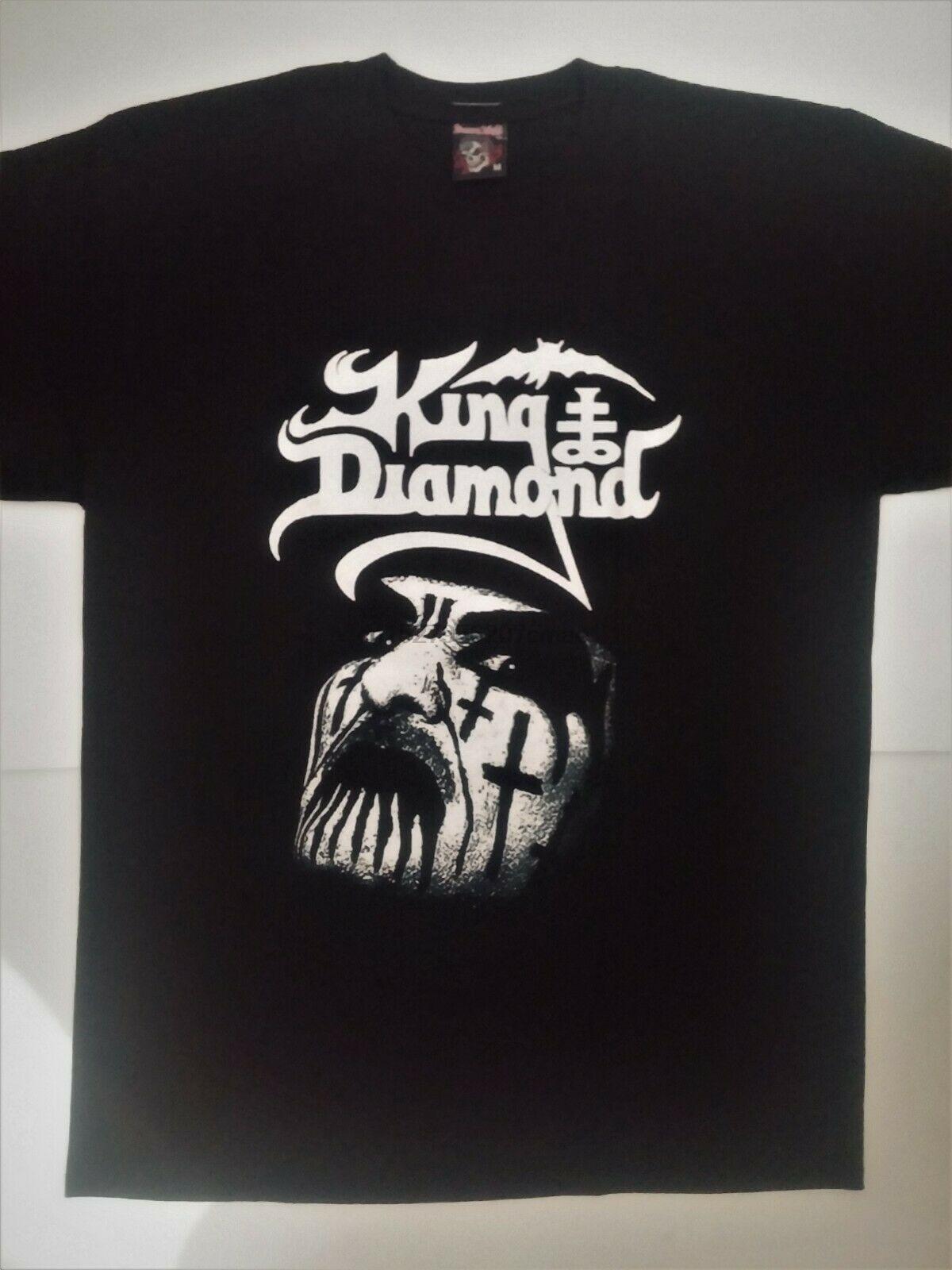 Abigail white t-shirt 100/% cotton sizes S-5XL King Diamond