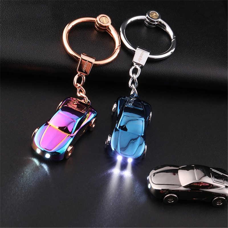 Jante voiture Turbo porte-clés avec disques de frein voiture pneu porte-clés Auto voiture porte-clés porte-clés pour BMW Audi beaux cadeaux pour hommes