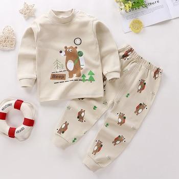 0-24M Baby Clothing Sets Autumn Baby boys Clothes Infant Cotton Girls Clothes 2pcs newborn baby Underwear Kids Clothes Set - C, 18M