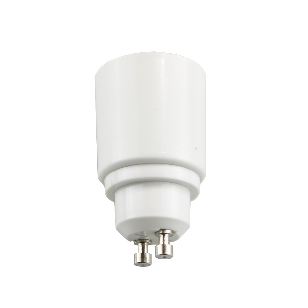 GU10 To E27 LED Light Bulb Adapter Lamp Holder Converter Socket Light Bulb Lamp Holder Adapter Plug Heat-resistant Material 1pcs