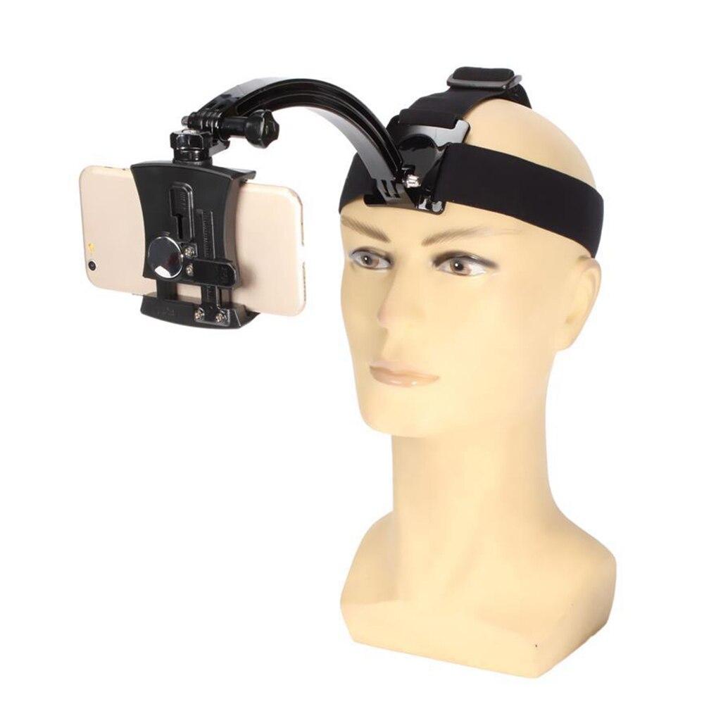 Pescoço pendurado de cabeça banda suporte do telefone móvel suporte GoPro suporte da câmara para a tomada de vídeo como passear a pé correndo