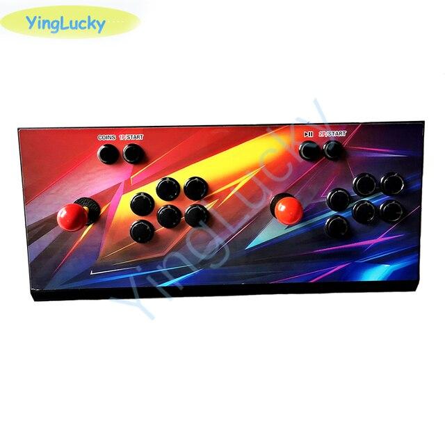 Yinglucky باندورا بوكس X ثلاثية الأبعاد ممر وحدة التحكم 3303 في 1 لوحة دارات مطبوعة 2 لاعب المنزل استخدام تحكم ريترو لعبة فيديو آلة