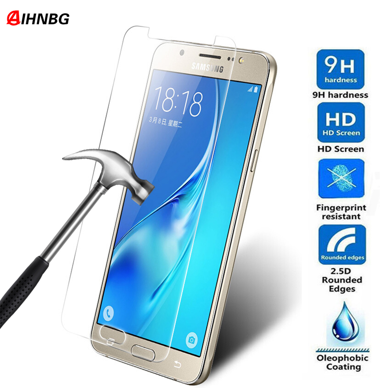 2pcs Protective Glass On The For Samsung Galaxy J3 J5 J7 J1 2016 2015 2017 S7 S6 S5 S4 S3 Tempered Screen Protector Glass Film