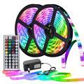 Цветная (RGB) 5050 Светодиодный светильник s полосы Rgb лента светодиодный 12v неоновые полосы светодиодный пропилен-каучука прокладки с пульт дис...