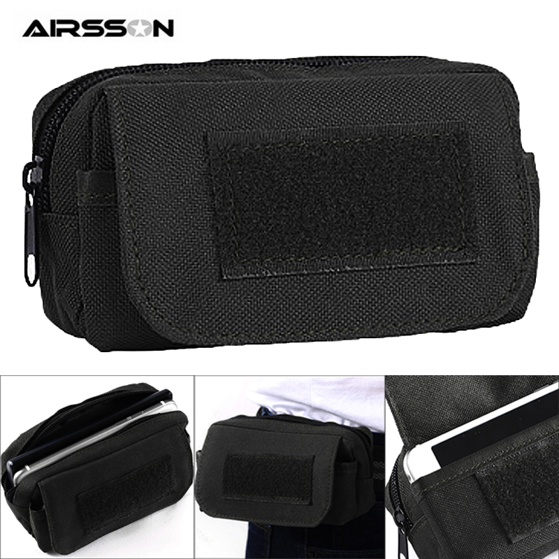 1000D Tactical Molle Waist Bag Men Waterproof Military EDC Pouch Wallet Card Phone Holder Outdoor Travel Hunting Accessory Bag
