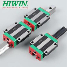 Bearings Flanged HIWIN Original 2pcs Block Carriage Cnc-Parts Linear-Rail Linear-Rail