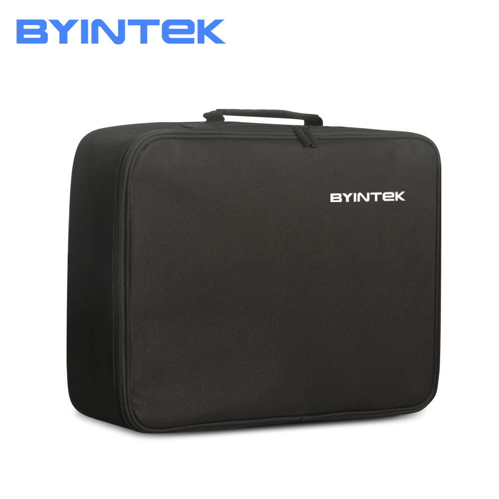BYINTEK Brand Projector Portable Carry Case Travel Bag For BYINTEK Projector MOON BT96plus K15 K11 M7 M1080 BL127 BL126